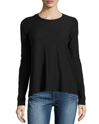 James Perse A Line Long Sleeve Tee Black