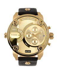 Diesel Timepieces Wrist Watches Men Gold
