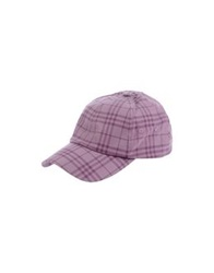Burberry London Hats Purple