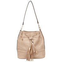 Miss Selfridge Cashew Clean Duffel Bag Nude