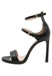 Pura Lopez High Heeled Sandals Negro Black