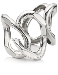 Annelise Michelson Silver Large Chain Link Cuff