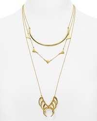 Baublebar Native Tiered Necklace 18 26 Gold