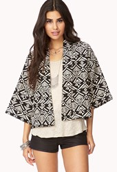 Forever 21 Day Trip Tribal Print Cardigan