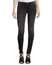 Miss Me Signature Rise Skinny Jeans Dark Gray