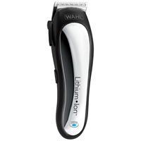 Wahl Lithium Ion Power Clipper Silver Black