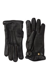 Belstaff Buckie Wool And Deer Leather Gloves