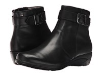 Hush Puppies Ethel Oleena Black Wp Leather Women's Boots