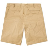 Beams Plus Chino Short Brown