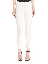 Yigal Azrouel Stretch Ankle Pants White