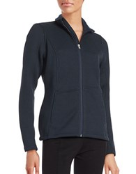 Spyder Endure Textured Mockneck Jacket Frontier