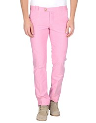 Mastai Ferretti Trousers Casual Trousers Men Pink