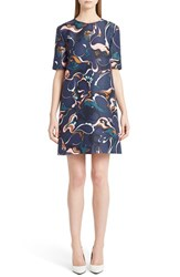 Marni Women's Paisley Silk Shift Dress