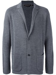 Michael Michael Kors Patch Pocket Cardigan Grey