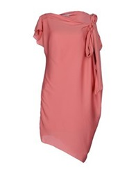Fairly Knee Length Dresses Pastel Pink