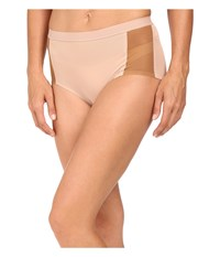 Spanx Undie Tectable Retro Rise Mesh Brief Naked 3.0 Naked 2.0 Women's Underwear Beige