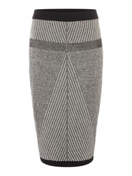 Label Lab Knitted Skirt Multi Coloured