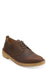 Men's Clarks 'Desert London' Plain Toe Derby Beeswax
