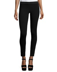 Go Silk Silk Crepe Ankle Leggings Women's Black