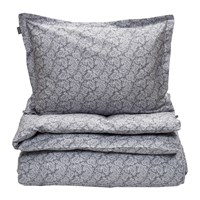 Gant Ash Paisley Duvet Set Double Elephant Grey