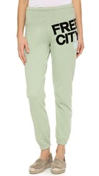 Freecity Feather Weight Sweatpants Clay Sound