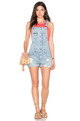 Lovers Friends Shane Short Overalls Solana