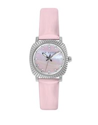 Ted Baker Ladies Stainless Steel And Patent Leather Watch Pink