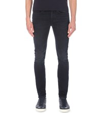 Paul Smith Overdye Slim Fit Tapered Jeans Navy