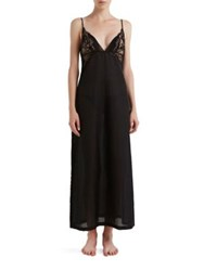 La Perla Jazz Time Nightgown White Black