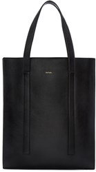 Paul Smith Black Accordion Tote