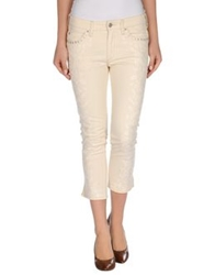 Isabel Marant Denim Pants Beige