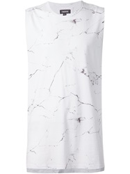 Zanerobe 'Flintlock' Marble Tank Top White
