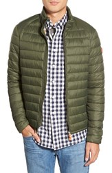 Men's Save The Duck Water Resistant Puffer Jacket Cypress Green