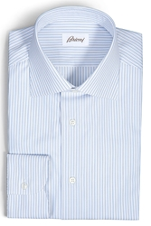 Brioni Cotton Striped Shirt