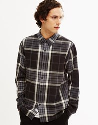 The Hundreds Dune Long Sleeve Woven Shirt Black