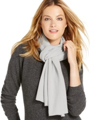 Charter Club Jersey Knit Cashmere Muffler Only At Macy's Heather Crystal
