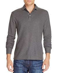 Boss Pickell Long Sleeve Regular Fit Polo Shirt Olive