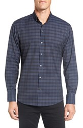 Zachary Prell Men's 'Cezar' Regular Fit Plaid Sport Shirt