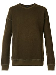 Wings Horns Thermal Jumper Green