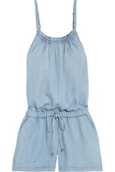 Splendid Tencel Chambray Playsuit Light Denim