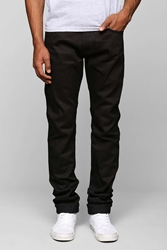 Big John Tapered Kuro2 Selvedge Skinny Jean Black
