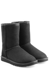 Ugg Australia Classic Short Suede Boots Black