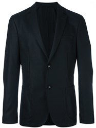 Officine Generale Tailored Blazer Black