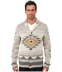 Lucky Brand Mulhoulland Shawl Cardigan Multi Men's Sweater