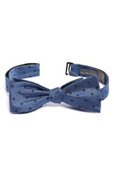 Calibrate Men's 'Sorbet' Geometric Silk Bow Tie