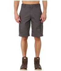 Carhartt Force Tappen Cargo Short Gravel Men's Shorts Silver