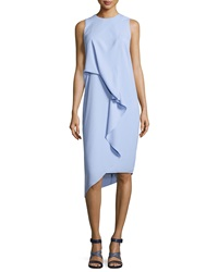 Camilla And Marc Sleeveless Draped Cocktail Dress