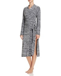 Josie Sweater Weather Long Wrap Robe Heather Charcoal