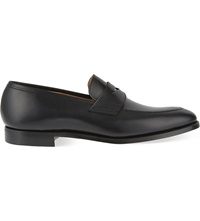 Crockett Jones Sydney Penny Loafers Black