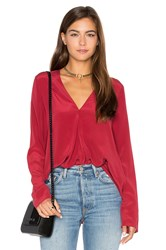 Charli Marissa Blouse Red
